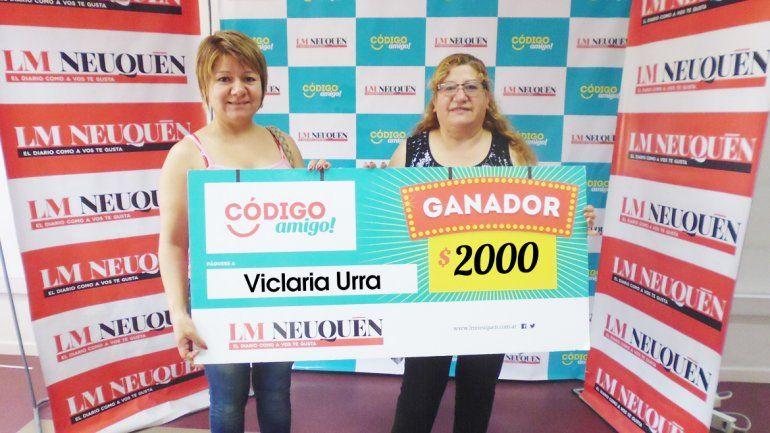 Viclaria Urra.