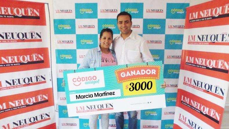 Marcia Martínez.