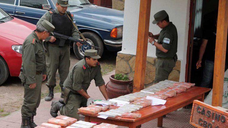 Gendarmería Nacional estuvo a cargo del operativo.