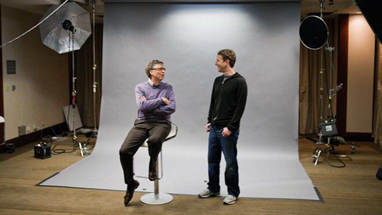 Gates y Zuckerberg