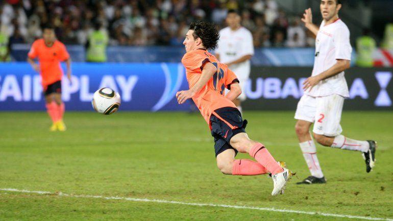 El Pincha cayó en 2009 por una genialidad de Messi en suplementario.