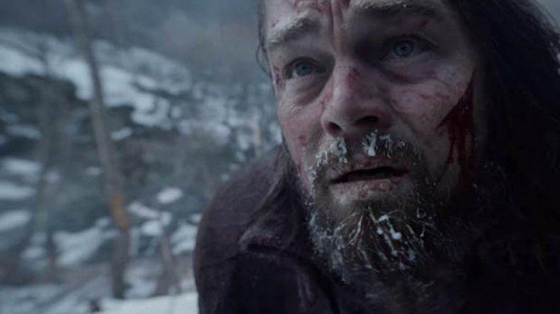Desmienten que Di Caprio haya sido violado por un oso en una película