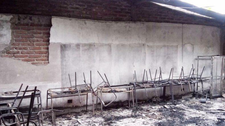 La estructura del establecimiento quedó muy dañada. Por eso habrá que levantar el edificio una vez más.