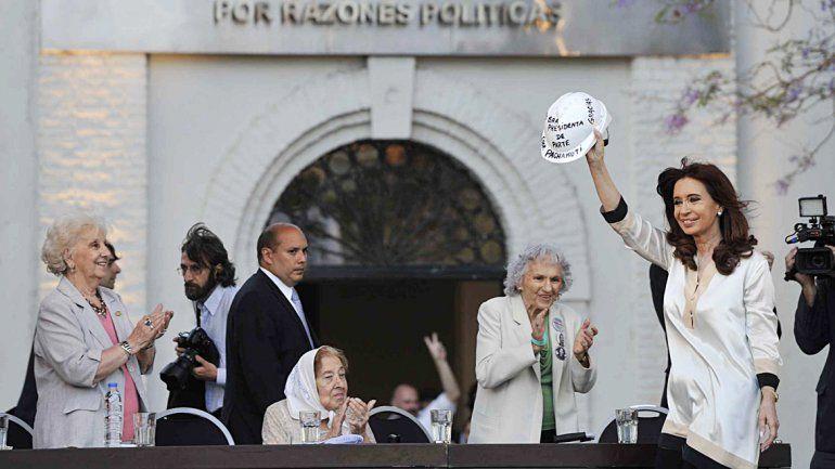 La Presidenta inauguró cuatro pabellones en la ex ESMA.