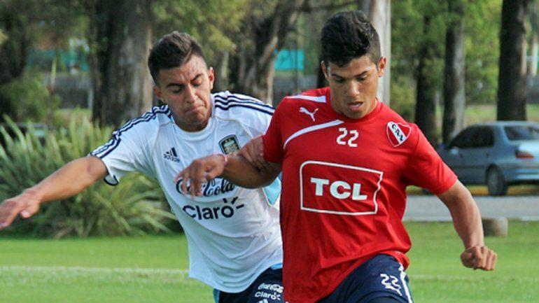 Gastón del Castillo viene de meterle un gol a Racing en la reserva.