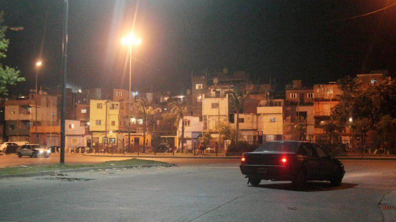 El lugar exacto donde ocurrió la balacera que terminó con el embarazo de una mujer de 22 años.