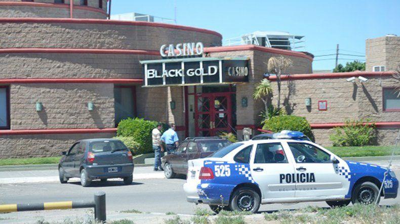 El frente del casino Black Gold