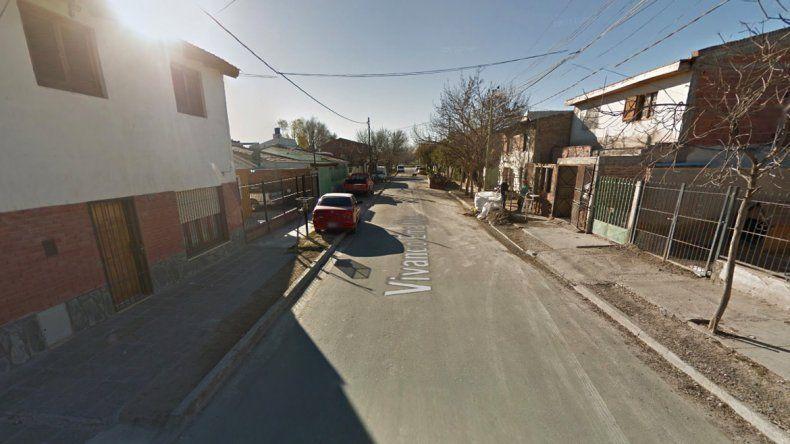Calle Vivanco Ema al 1400 del barrio Belgrano.