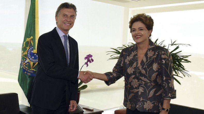 Macri resaltó que Argentina y Brasil tienen muchos desafíos comunes importantes
