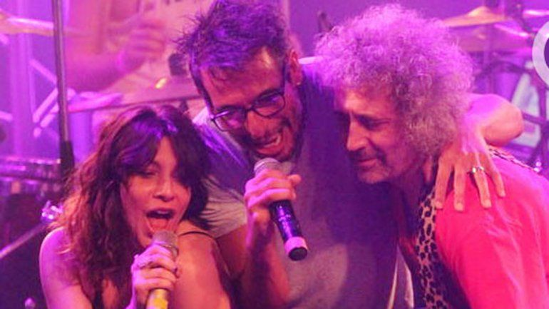 La actriz y su novio fueron invitados al show de La Franela.
