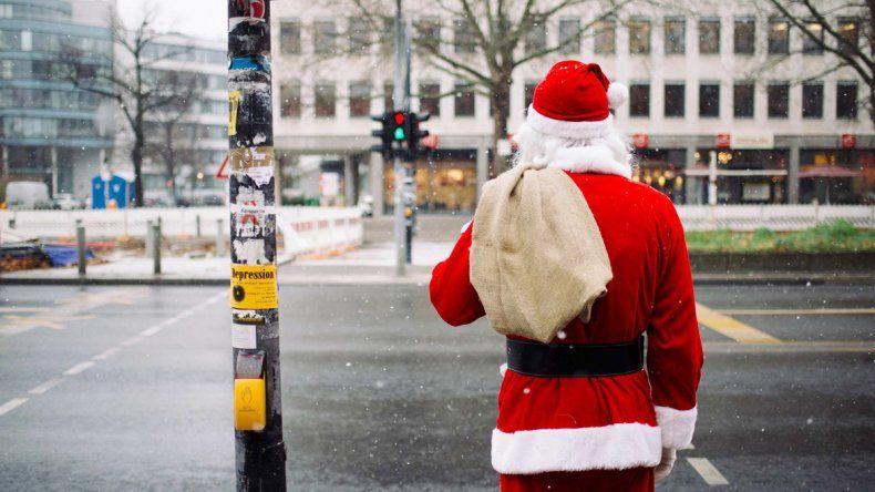 Ahora Papá Noel goza de buena salud en Noruega.