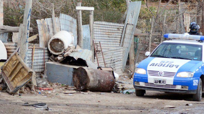 El incidente ocurrió en la violenta barriada de toma La Familia.