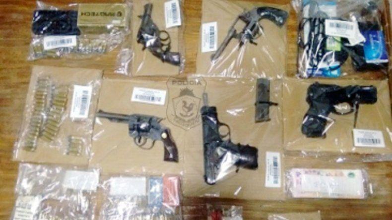 La Policía secuestró armas