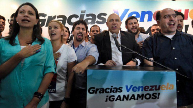 La oposición se impuso al chavismo después de casi dos décadas