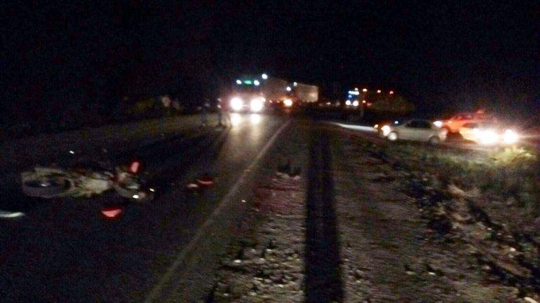 Ruta 40: borracho al volante atropelló, mató y se escapó
