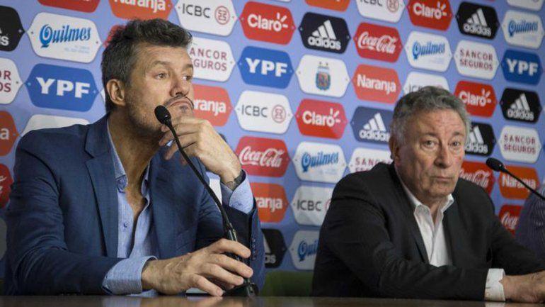 Marcelo Tinelli y Luis Segura