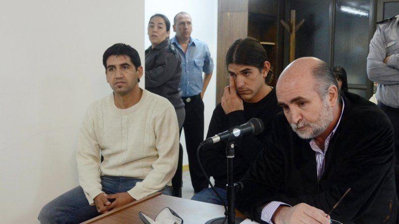 Díaz y Serrano escucharon en la audiencia la confirmación de la pena mayor.