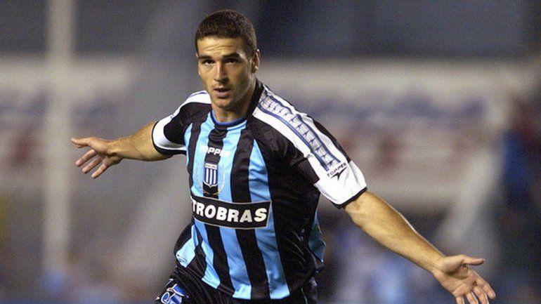 López fue goleador de Racing en el Apertura 2004 con 12 tantos.