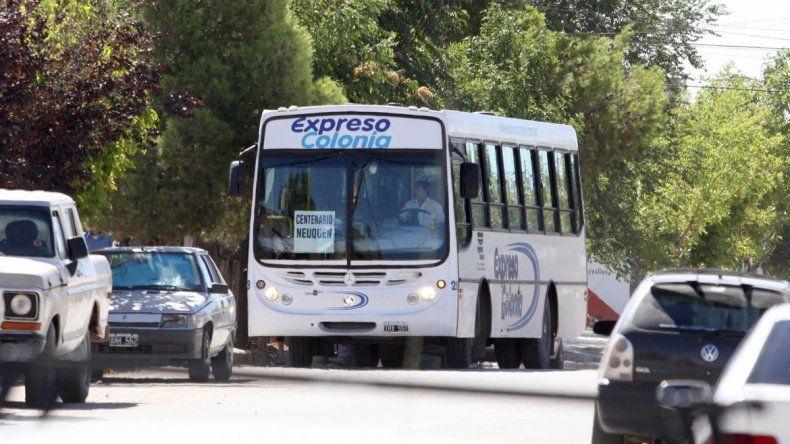 Todo listo para que Expreso Colonia se haga cargo del transporte en la zona norte de la ciudad
