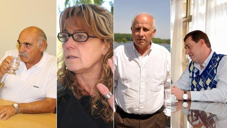 Con Lara, Storioni, Brillo y Bruno, Omar Gutiérrez completó su equipo de ministros