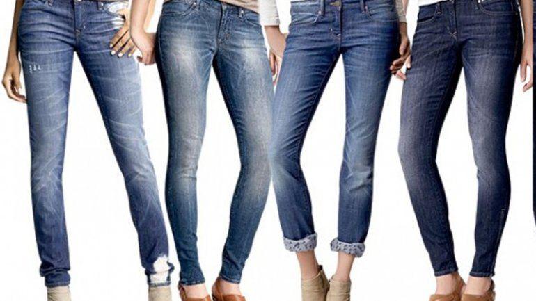 Seis opciones de jeans: ¿Sabés cuál le conviene a tu figura?