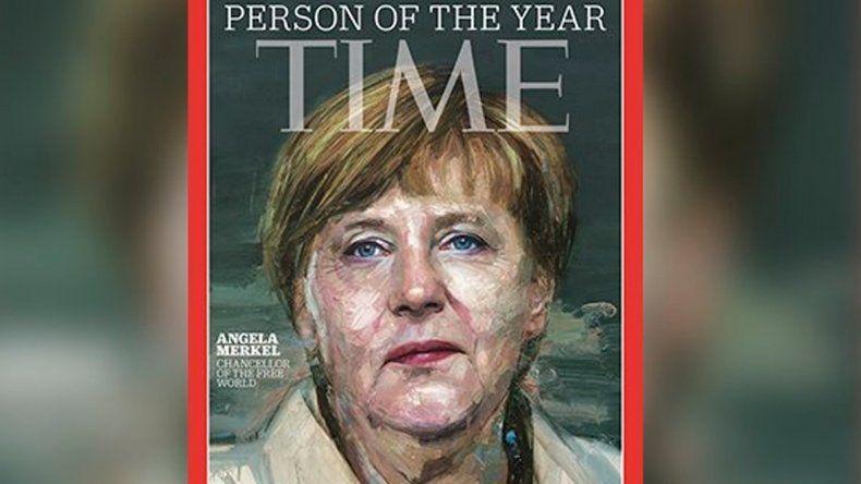 Angela Merkel elegida personaje del año 2015 por la revista Time