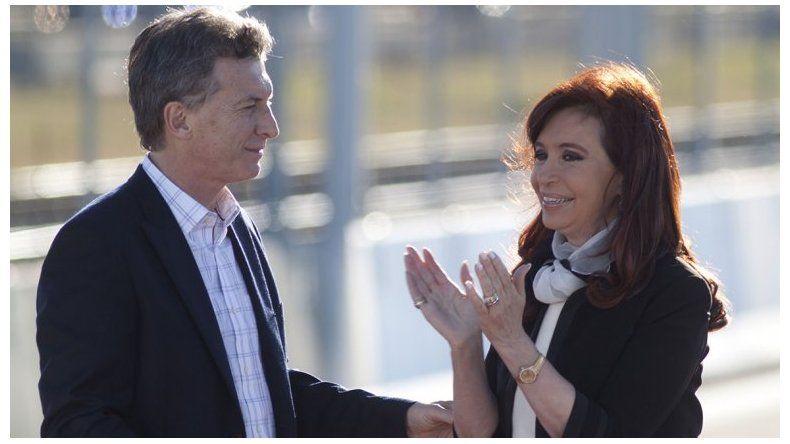 Cristina le adjudicó a Macri la angustia de los próceres