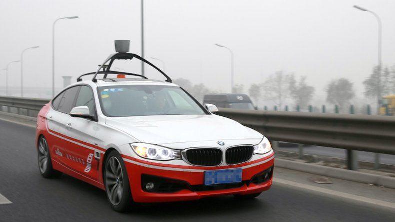 El rival chino de Google desarrolla un coche sin conductor
