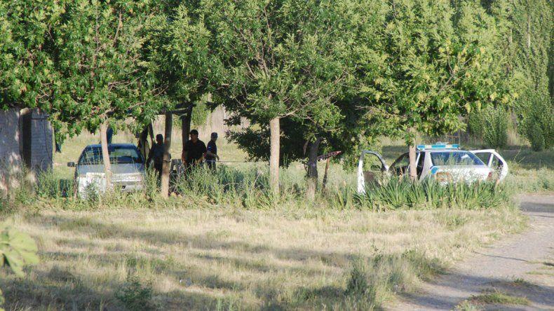 El enfrentamiento se produjo en una chacra de Fernández Oro.