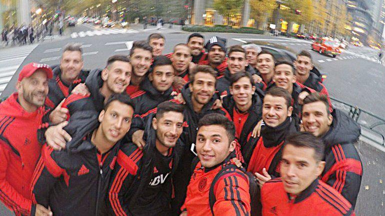 Selfie grupal de la Banda.