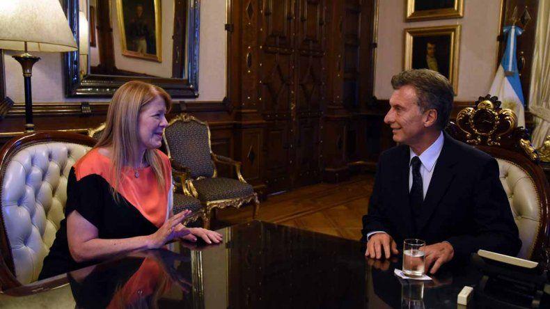 Margarita Stolbizer tuvo su encuentro con Mauricio Macri.