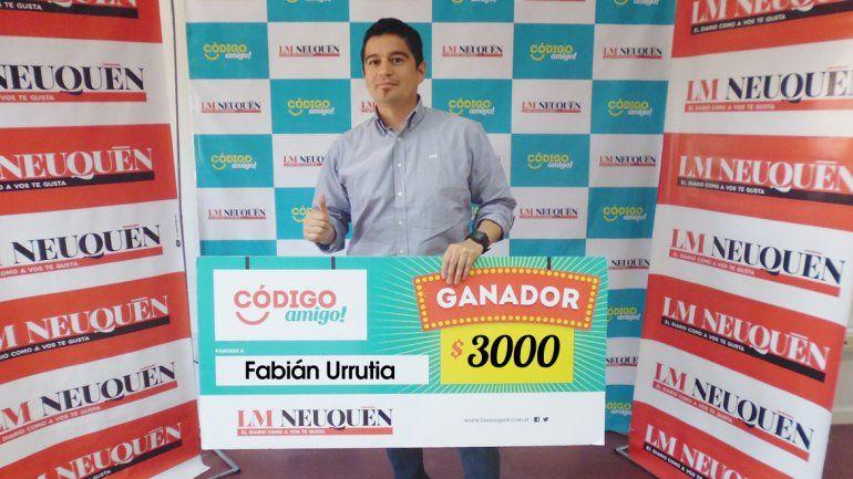 Fabián Urrutia.