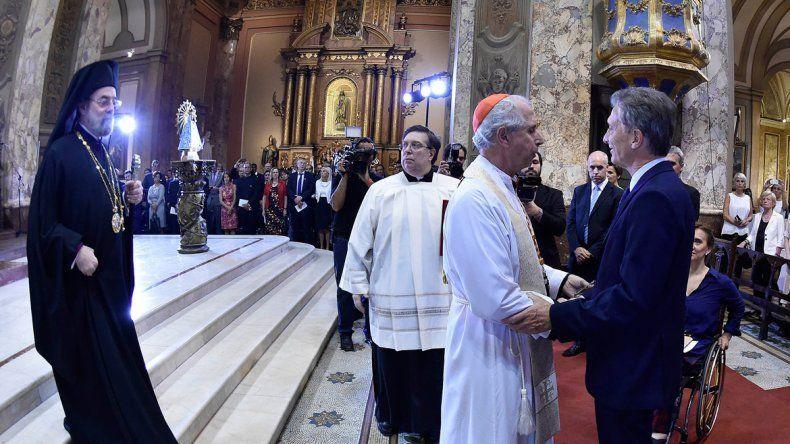 El arzobispo Mario Poli