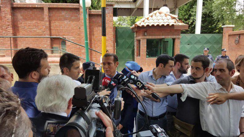 Luego del encuentro con Macri, Gutiérrez aseguró que son tiempos de trabajar codo a codo por el interés de la Patria