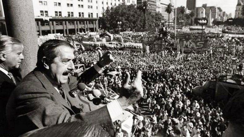 32 años del regreso de la democracia en el país