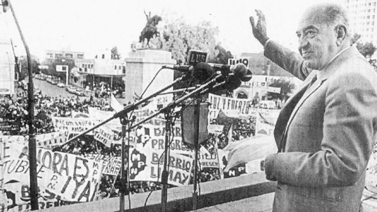 32 años del regreso de la democracia en el país.