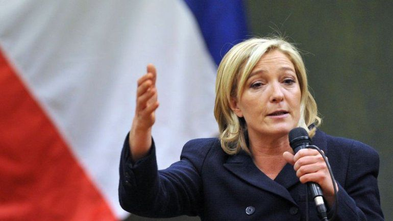 La ultraderechista Marine Le Pen