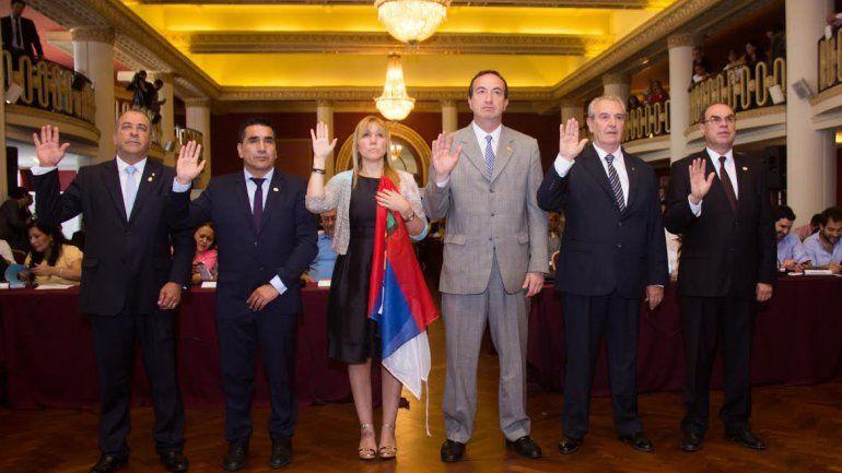 Ramón Rioseco asumió como diputado en el Parlasur