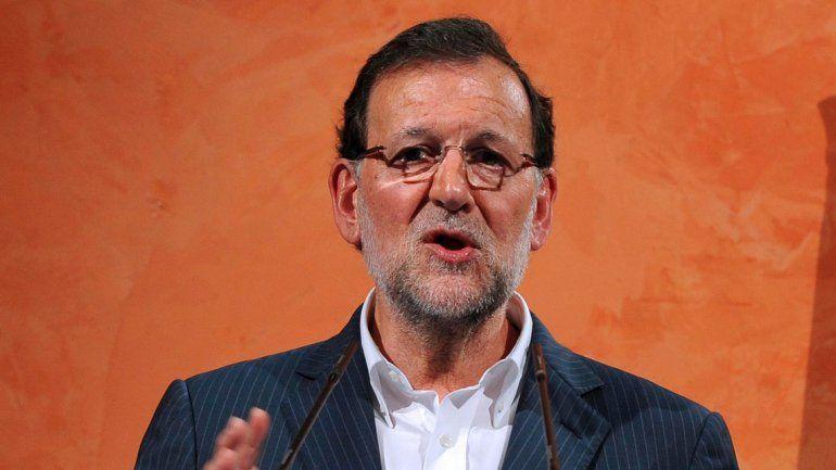 El candidato Mariano Rajoy.