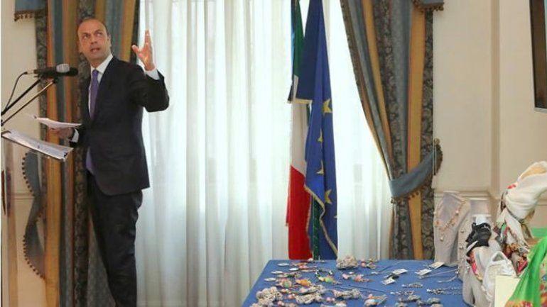 El ministro italiano del Interior