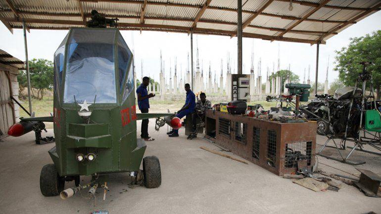 El taller del inventor Kwadwo Safo Kantanka