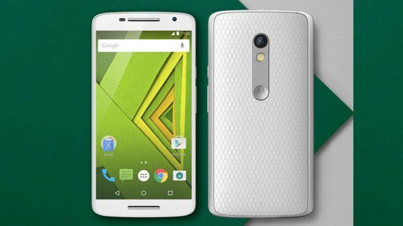 El nuevo teléfono inteligente que Motorola trajo al país.