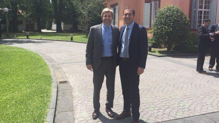 En Buenos Aires, Gutiérrez  se reunió con el ministro Frigerio
