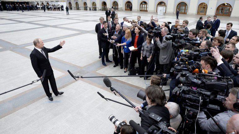 La particular forma de caminar de Vladimir Putin.