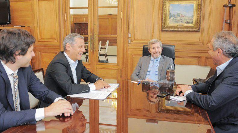 Quiroga cerró estos acuerdos en un encuentro con el ministro del Interior