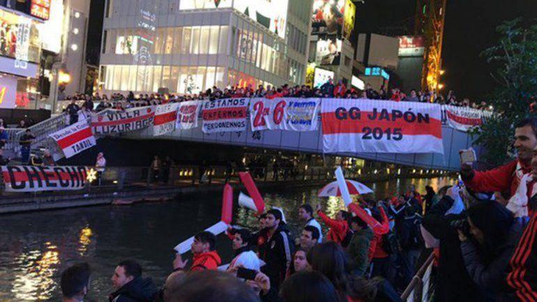 Japón se vistió de rojo y blanco. El público millonario copó Osaka con un banderazo de miles de personas. Además