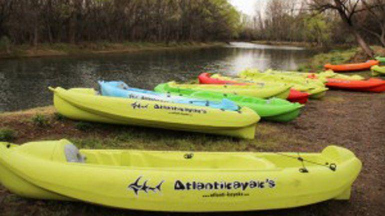 Se robaron los kayaks de la escuela municipal de canotaje