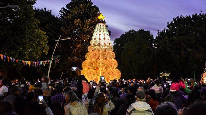 La Fiesta Nacional de la Navidad Cordillerana volvió a San Martín