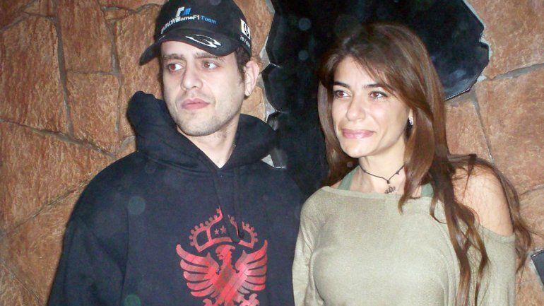 Carlos Nair y Zulemita Menem.