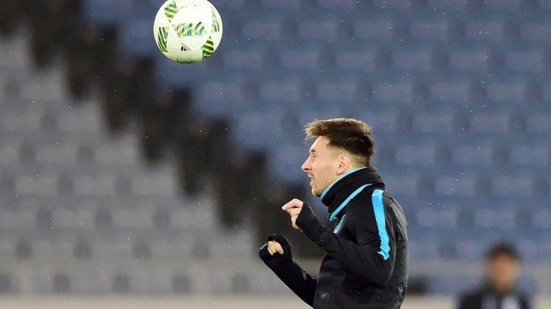 Messi quiere llegar a la tercera final con el Barça hoy